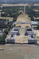 PIC SHOWS:- aerial views of Greenwich University