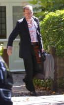 PICS SHOWS;Andrew Marr leaves his home today 9/9/12 in London SW18.