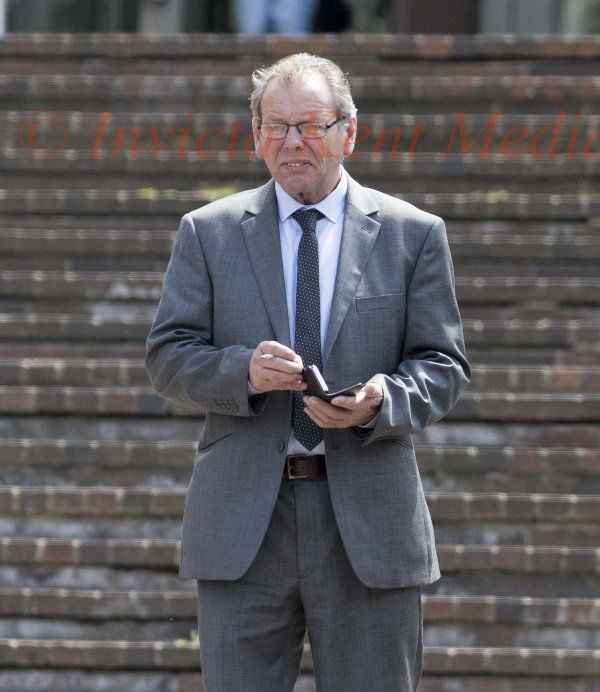 PIC SHOWS:Maidstone Crown Court Today 3 defendants accused of Stealing 8 Million pounds worth of Fuel from a pipeline under Nick cleggs country house Chevening when he was Deputy Prime Minister. Pic Shows Thomas Campbell age 58yrs From Kilmarnock Scotland