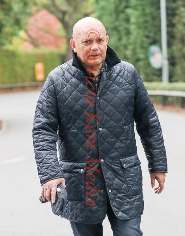 PIC SHOWS:Chelsea training ground today; Ray Wilkins Leaving Chelsea training ground today after picking up tickets for Saturday,s Game.Chelsea versus Crystal Palace Ray is Recovering from a Heart Bypass Surgery.And has just got out of Hospital.