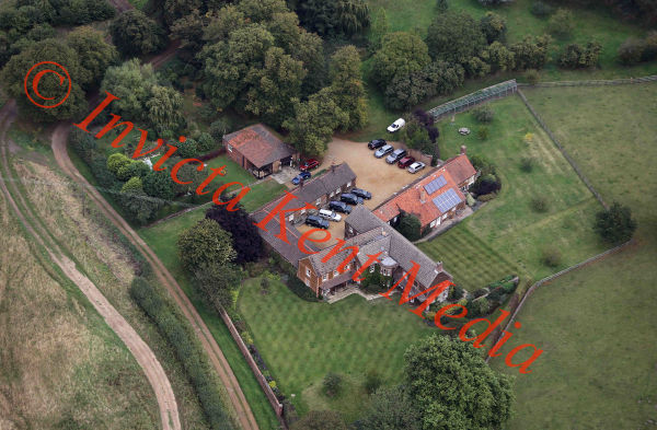 PICS SHOWS;  Aerial Views of the Sandringham Estate  Wood Farm in Wolferton  ,Near Sandringham Used by members of the Royal Family for short weekend Shooting Breaks