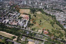 PIC SHOWS:- aerial pics of Primrose Hill, London