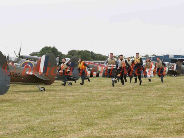 SCRAMBLE at Biggin Hill, part of the 75 Anniversary of the Battle of Britain  Hardest Day
