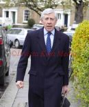 JACK STRAW LEAVES HIS HOME IN KENNINGTON LONDON TODAY 18/4/12 AT MIDDAY