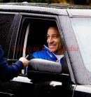 John Terry leaving the Chelsea training ground, Cobham, Surrey