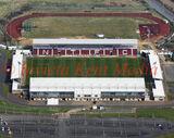 PIC SHOWS:- aerial pics of Sixfields stadium, home of Northampton Town FC