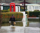 PIC SHOWS:- More flooding in Yalding, Kent