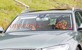 PIC SHOWS;Royals at Crathie Church 11.9.16. Charles and Camilla arrives  at Crathie Church Balmoral .