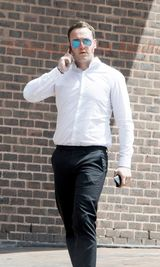 PIC SHOWS:Maidstone Crown Court Today 3 defendants accused of Stealing 8 Million pounds worth of Fuel from a pipeline under Nick cleggs country house Chevening when he was Deputy Prime Minister. Pic Shows Ryan Gull