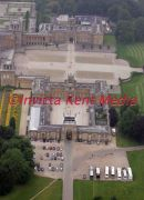 PIC SHOWS AERIAL VIEWS BLENHEIM PALACE IN OXFORD