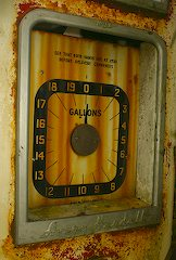 Old Gasoline Pump
