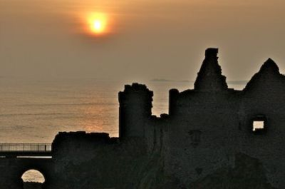 Evening at Dunluce Castle