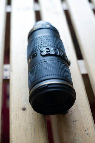 Nikkor 70-200mm f4 EG VR III Zoom Lens