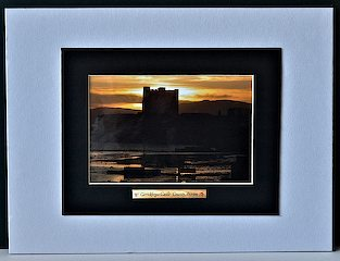 Evening at Carrickfergus Castle