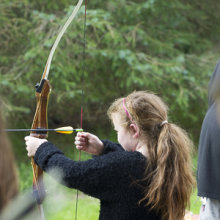 Sarah @ Archery