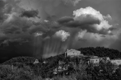 Storm Clouds over Spain