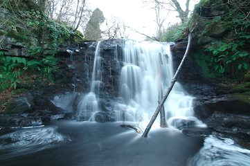 Waterfall in Glenariff Country Park