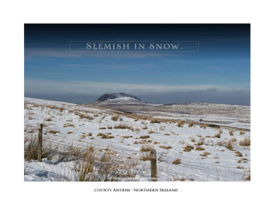 Slemish in Snow