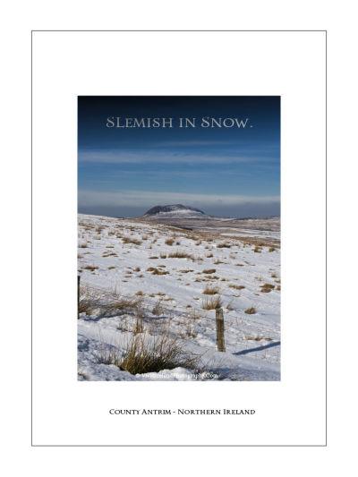 Slemish in Snow