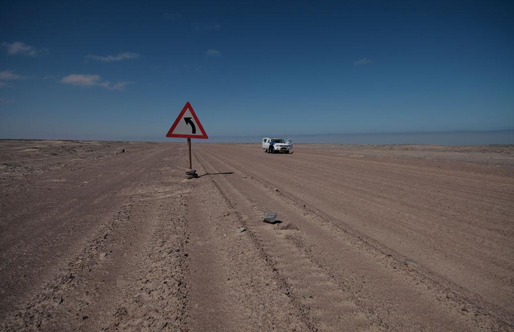 'Essential' Road Sign