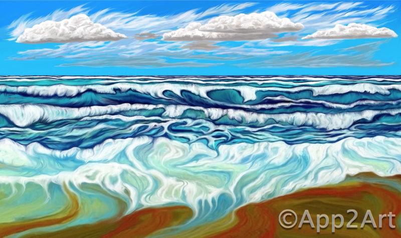 Bright seas