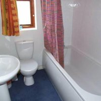 Bathroom in 66 Havelock Street, 3 bed Loughborough student house.