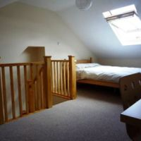 Loft double bedroom in 12 Caldwell Street in the Loughborough Golden triangle.