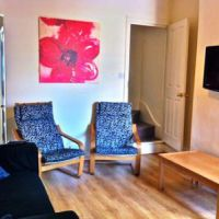 Lounge of this great house in a popular Loughborough student accommodation area.