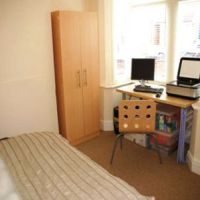 Double bedroom in this student accommodation to rent to Loughborough University students.