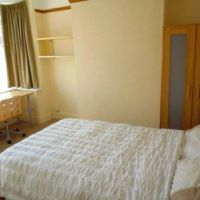 Large double bed, Loughborough 4 bedroom student house.