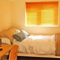 Double bedroom Golden triangle Loughborough student accommodation.