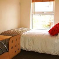 Double bedroom in this 5 bedroom Loughborough student house.