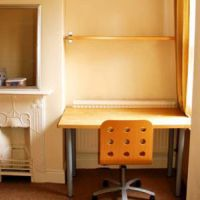 Study bedroom in this Loughborough University student house.