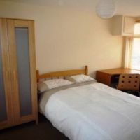 Large double bedroom including IKEA furnishings, 21 Radmoor Road Loughborough student house.