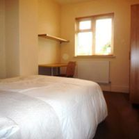 Typical large double bedroom, 21 Radmoor Road Loughborough student accommodation.