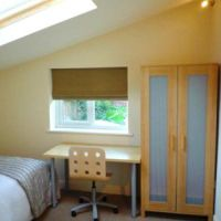 Double loft bedroom in 53 William Street, 6 bedroom Loughborough student house to let.