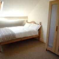Loft bedroom in 53 William Street, 6 bedroom Loughborough student houses.
