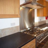 Modern luxury kitchen in 53 William Street, Golden triangle 6 bedroom student houses in Loughborough.