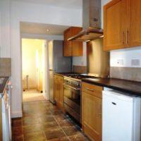 Modern luxury kitchen, 53 William Street, Golden triangle 6 bedroom student accommodation Loughborough.