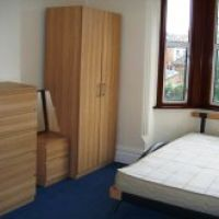 Modern IKEA furniture and double beds in 31 Storer Rd, Loughborough student houses to let.