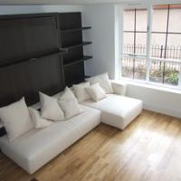 Spacious living room in Villency 1 bed studio apartments to rent on Nottingham Road Loughborough.