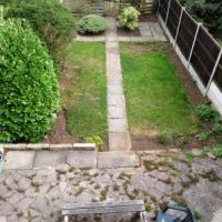 Landlord maintained garden at rear of house, ideal for summer bbqs.