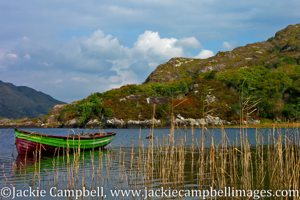 Autumn lake, Killarney, Ireland