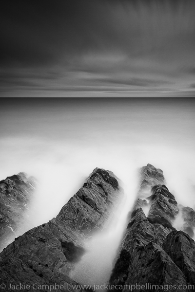 Rocky shoreline-Mono
