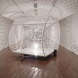 Monologue Patterns (white net with shadows) 2004