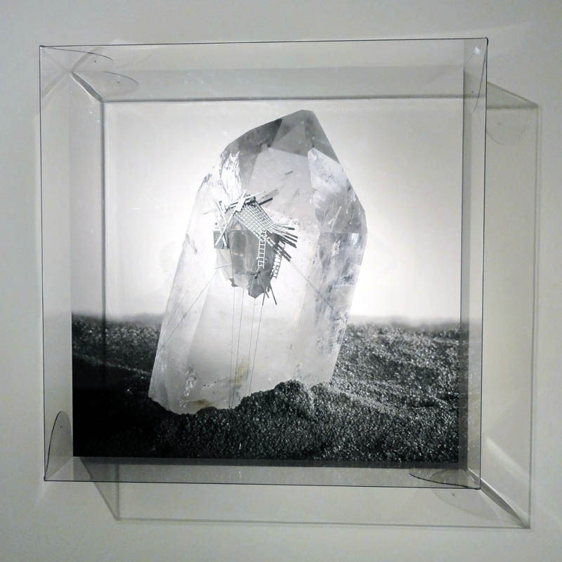 Radiances, (White pakistan quartz in almost pure delay), 2011