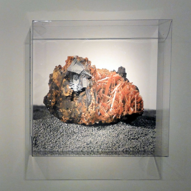 Radiances (Tasmanian crocoite with simple reverberation algorithms), 2011