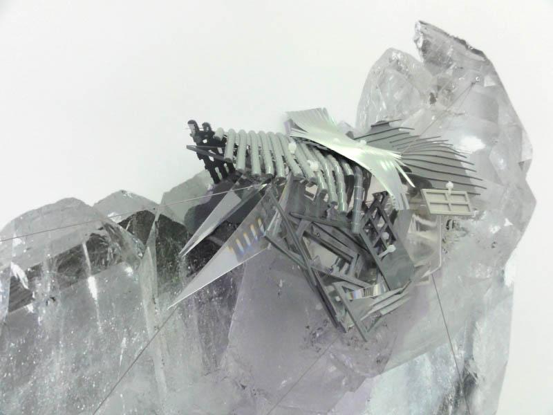 Radiances (Pakistan faden quartz in critical distance), 2011