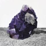 Radiances (Sound pressure around chinese violet Fluorite), 2011