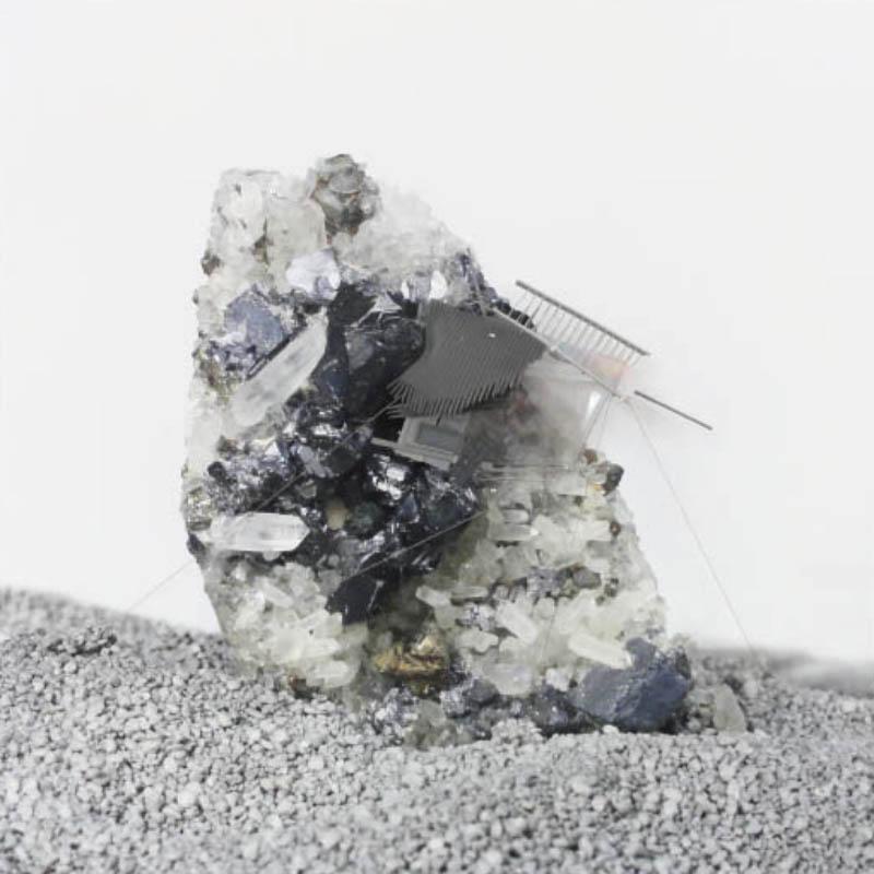 Radiances (Peruvian calcopirite and galena reverbs), 2011